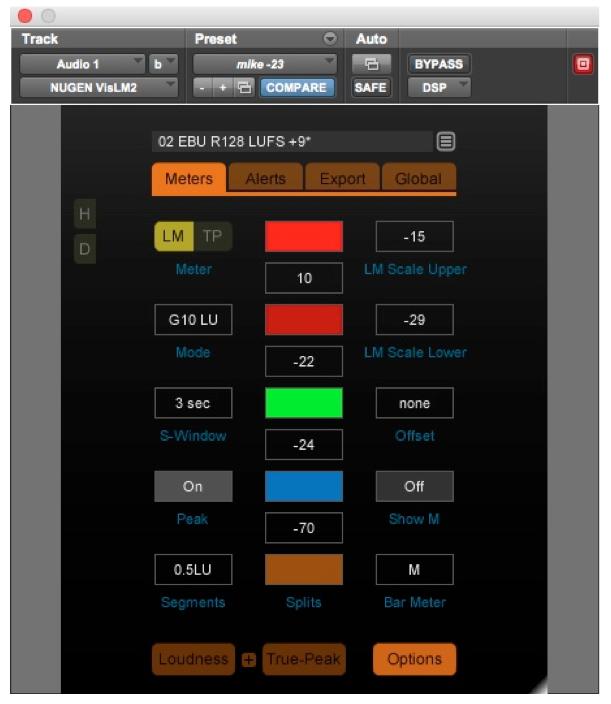 Metering Option of Nugen VisLMH-2