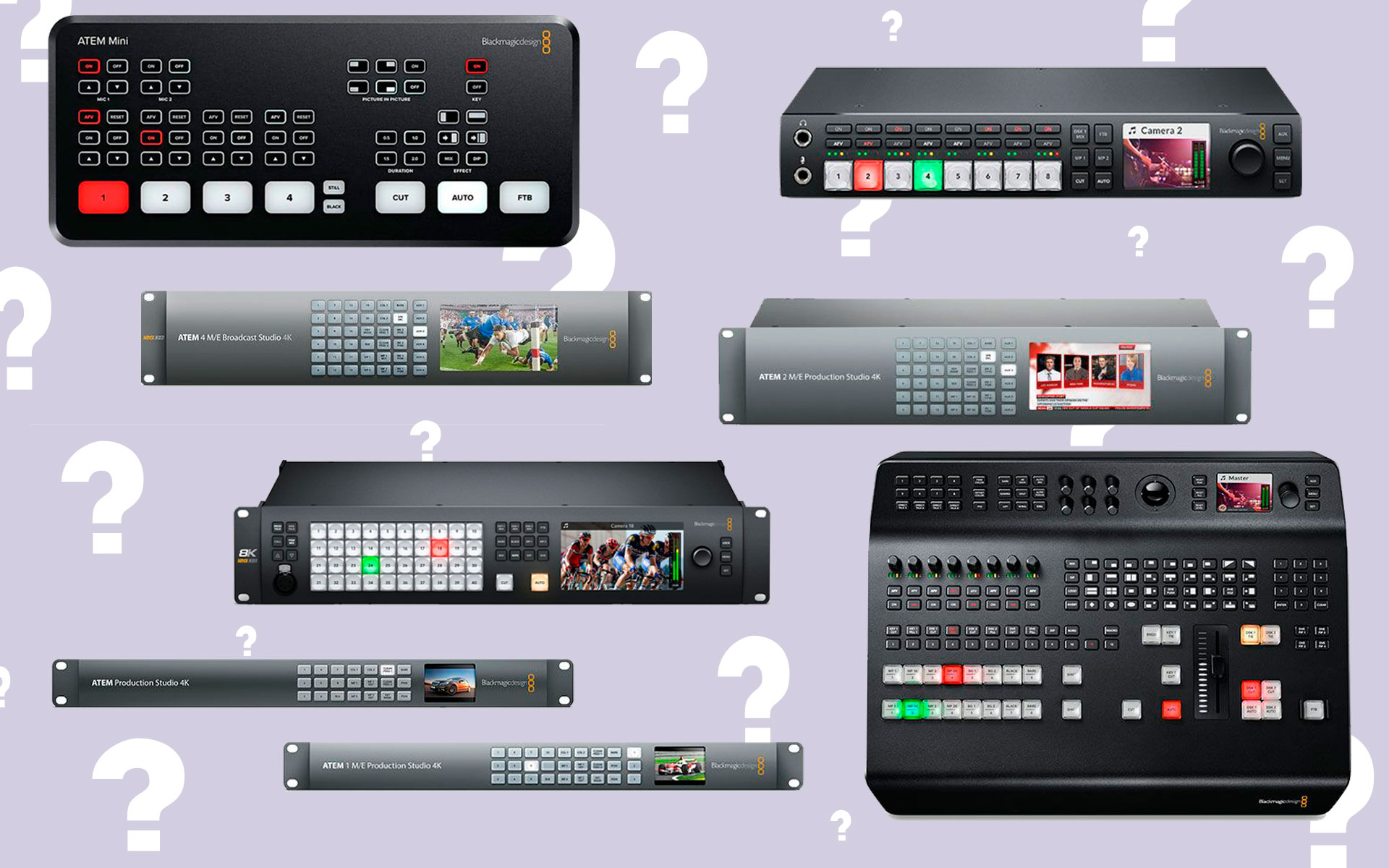 Choosing The Right Blackmagic Design Atem For The Job Esv Magazine