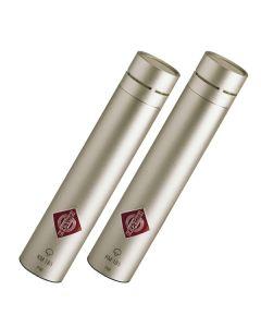 Neumann KM 185 Miniature Studio Condenser Microphone Stereo Set (Nickel)