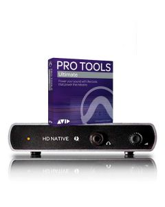 HD Native Thunderbolt Box with Pro Tools Software box