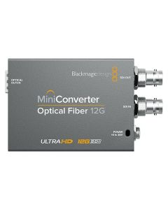 Blackmagic Design Mini Converter Optical Fibre 12G front