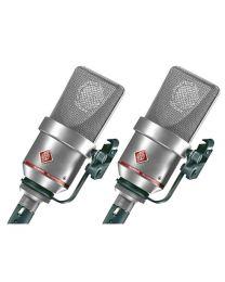 Neumann TLM 170R Studio Condenser Microphone Stereo Set (Nickel)