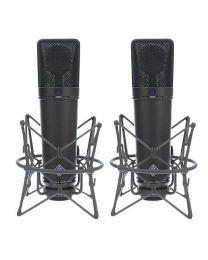 Neumann U 87 Ai MT Studio Condenser Microphone Stereo Set (Black)