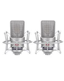 Neumann TLM 103 Studio Condenser Microphone Stereo Set (Nickel)