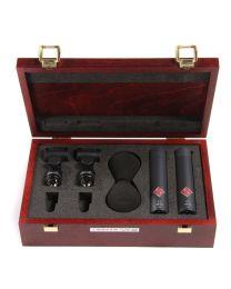 Neumann KM 183 MT Miniature Studio Condenser Microphone Stereo Set (Black)
