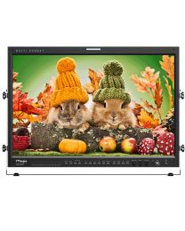 "TV Logic LVM-246W 24"" Full HD Multi Format Professional LCD Monitor"