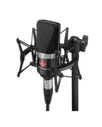 Neumann TLM 102 BK Condenser Microphone Studio Set (Black)