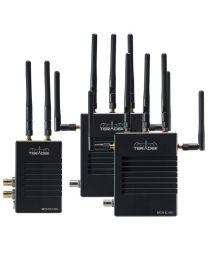 Teradek Bolt LT 1000 Deluxe Kit SDI/ HDMI 2 x RX Gold Mount Wireless Video Transceiver Set