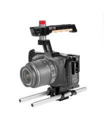 Shape Blackmagic Pocket Cinema Camera 4K Cage with 15mm Rod System