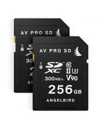 AngelBird Match Pack for Panasonic GH5/GH5S- 2 x SD 256GB Cards