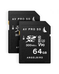 AngelBird Match Pack for Panasonic GH5/GH5S- 2 x SD 64GB Cards