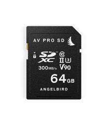 Angelbird AV Pro SD V90 64GB