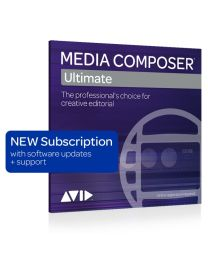 Avid Media Composer | Ultimate 3-Year Subscription New