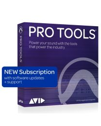 Avid Pro Tools 1-Year Subscription New (Software Download with Updates + Support for a year)