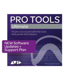 Avid Pro Tools Ultimate 1-Year Software Updates and Support Plan New