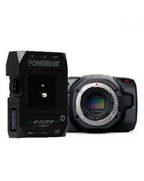 Blackmagic Design Pocket Cinema Camera 6K (Body Only) and Core PowerBase Edge Bundle