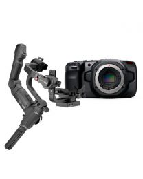 Blackmagic Design Pocket Cinema Camera 6K (Body Only) and Zhiyun Crane 3 Creator Package