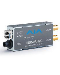 AJA FiDO-2R-12G Fibre Receiver