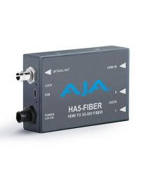 AJA Video Systems HA5-Fiber HDMI to SDI Fiber Mini Converter