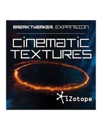 iZotope BreakTweaker Expansion: Cinematic Textures