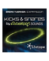 iZotope BreakTweaker Expansion: Kicks & Snares by Beatport Sounds