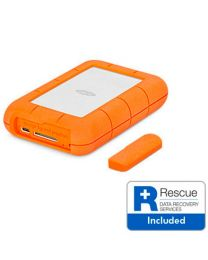LaCie Rugged RAID Pro 4TB USB-C Hard Drive with SD Card Slot