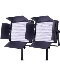 Ledgo 1200BCLK2 2 x Bi-Colour Dimmable Location/Studio Light Kit