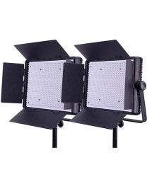 Ledgo 1200LK2 2x Daylight Dimmable Location/Studio Light Kit