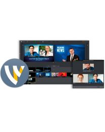 Telestream Wirecast Pro - Windows (Upgrade from Studio 4-7)