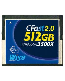 Wise CFast 2.0 Memory Card 512GB