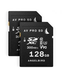 AngelBird Match Pack for Panasonic GH5/GH5S- 2 x SD 128GB Cards