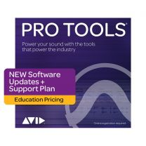 Avid Pro Tools Update and Support Plan - New - Educational