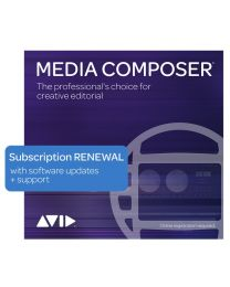 Avid Media Composer 1-Year Subscription Renewal