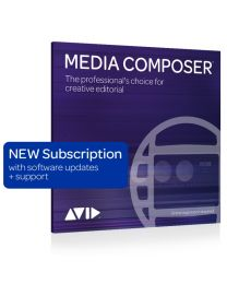 Avid Media Composer 1-Year Subscription New