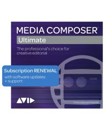 Avid Media Composer | Ultimate 3-Year Subscription Renewal