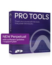 Avid Pro Tools Perpetual License New (Software Download with Updates + Support for a year)