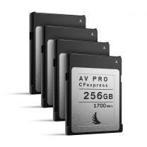 Angelbird AV Pro CFexpress 256GB | 4 Pack