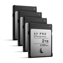Angelbird AV Pro CFexpress 2TB | 4 Pack