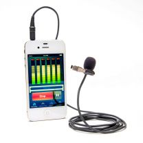 Azden EX-503+I Professional Lapel Microphone for Mobile Devices
