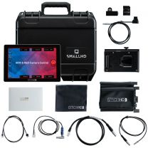 "Small HD Cine 7 - 7"" Professional On-Camera Monitor - Deluxe Camera Control Kit - V Mount"