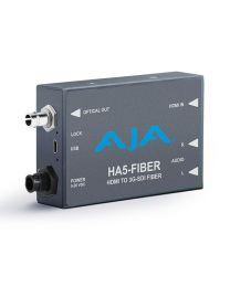 AJA Video Systems HA5-Fiber HDMI to SDI Fiber Mini Converter