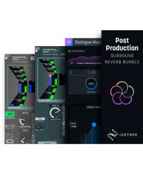 iZotope Post Production Surround Reverb Bundle Crossgrade Options