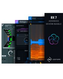 iZotope RX 7 Advanced Reverb Bundle Upgrade Options