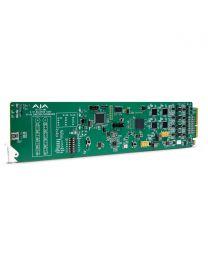 AJA OG-3G-AMA openGear 3G-SDI Analog Audio Embedder/Disembedder
