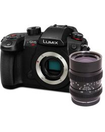 Panasonic Lumix DC-GH5S Mirrorless Camera w/ SLR Magic HyperPrime CINE III 2595MFT Lens