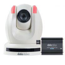 Datavideo PTC-150TW HDBaseT PTZ Video Camera (White)