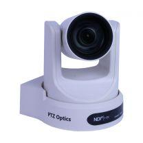 PTZOptics 20X-NDI PTZ Camera (White)