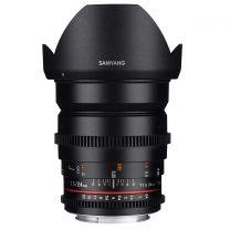 Samyang 24MM T1.5 VDSLR ED AS IF UMC II Lens (Sony FE)
