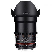 Samyang 35MM T1.5 VDSLR AS UMC II Lens (Sony FE)
