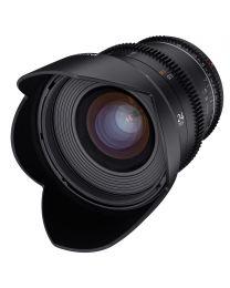 Samyang VDSLR 24mm T1.5 MK2 Lens (MFT)